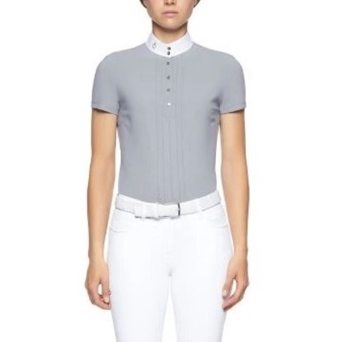 POLO DE CONCOURS CT PLEATED JERSEY S/S CAD179