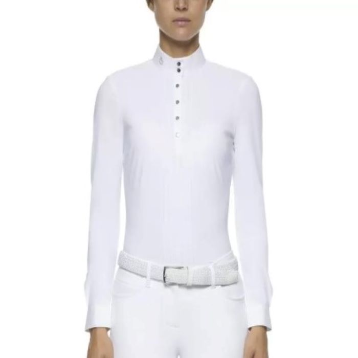 POLO DE CONCOURS CT PLEATED JERSEY L/S CAD164